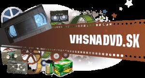 Prepis videokaziet VHS na DVD logo